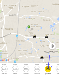 Taxiforsure Loot – Get Flat Rs 200 Free Ride From Ola Mobile App