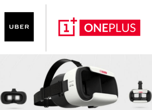 uber oneplus VR Loop headset for free 2 PM 17th June
