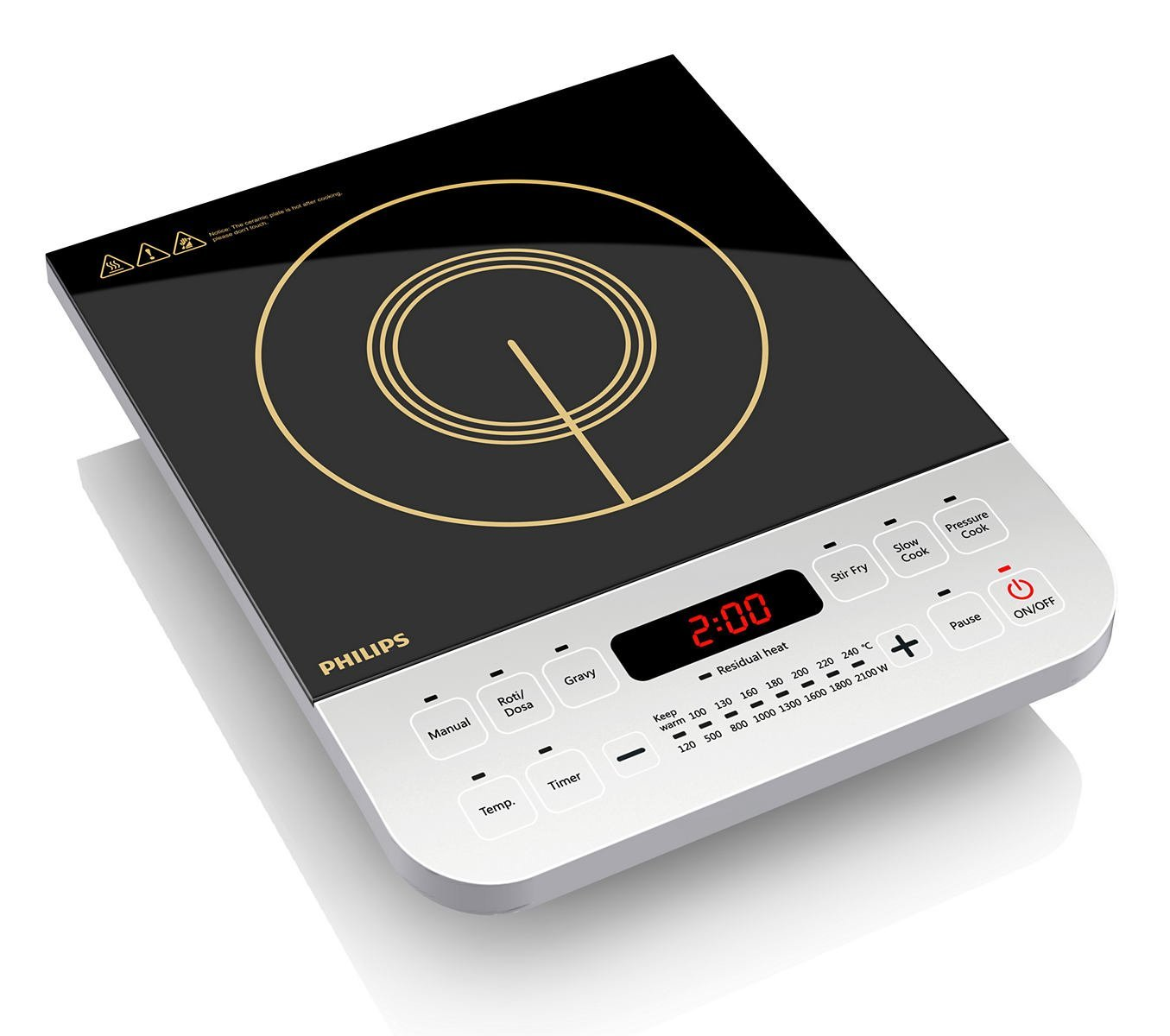 Amazon- Philips Viva Collection HD4928 2100-Watt Induction Cooktop (Black) at just Rs. 2179 only