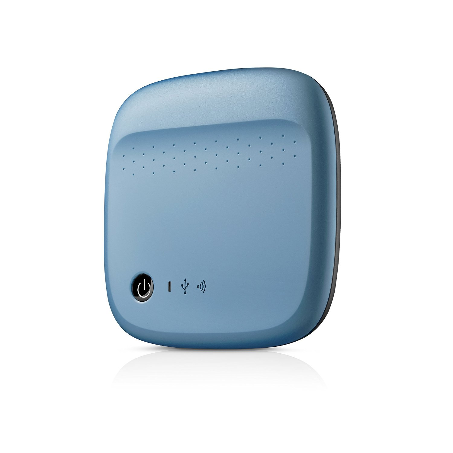 Amazon - Buy Seagate Wireless Mobile Portable Hard Drive Storage 500GB (Blue) at Rs 4,299 only