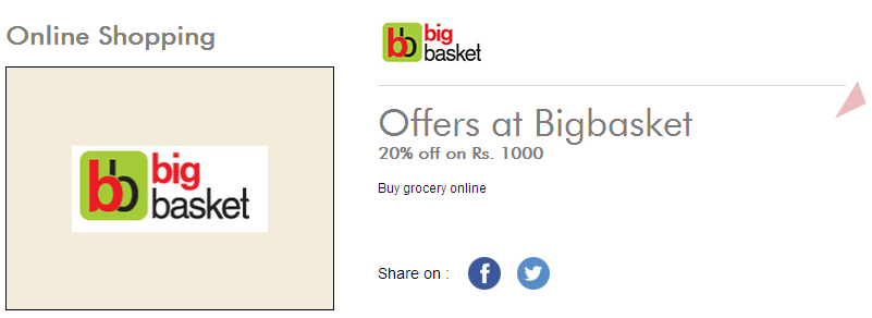 Bigbasket - Get Flat Rs 200 Off on Rs 1000 & Above (Axis Cards)