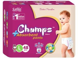 Snapdeal - Buy Champs High Absorbent Pants Large (48 Pieces) For Rs 419 Only