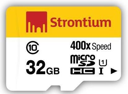 Strontium 400X Micro SDXC Card 32 GB (Class 10) Rs 211 only paytm