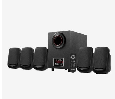 Tata CliQ - Buy Intex 5.1 IT-5100 SUF OS Multimedia Speaker (Black) at Rs 1,999 Only