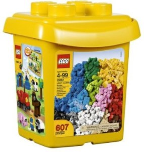 Flipkart :- Lego Bricks & More 10662 Creative Bucket (Multicolor) at Rs 4657 only