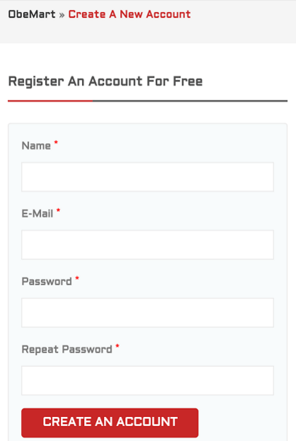 obemart register for a new account, get Rs 10 or 20 mobile recharge