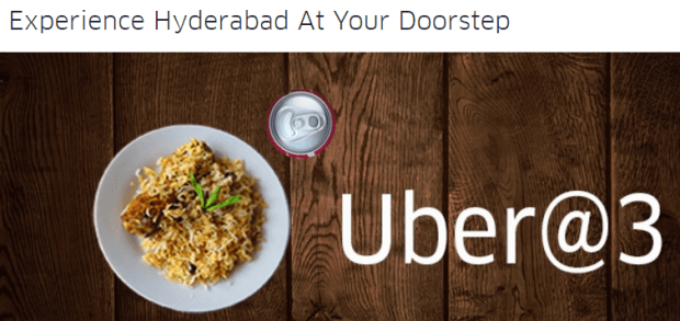 (LOOT) Uber - Get a Free Coca Cola and Radisson Biryani (Hyderabad only)