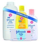 Amazon- Buy Johnson's Baby Bathing Combo