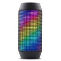 Captcha Pulse Series Portable Bluetooth USB TF Pulse Speaker Colorful LED Lights Flashing