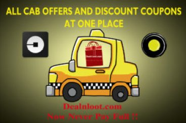 All Cab Offers and Discount Coupons at One Place ola Uber meru