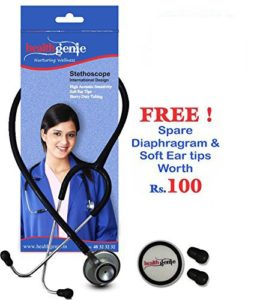 Amazon- Buy Healthgenie Hg-203B Doctors Dual Al Stethoscope