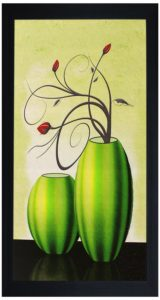 Buy SAF Textured Print with UV Framed Reprint Painting (SANFO326, 15 cm x 3 cm x 38 cm) for Rs.98 + Free Delivery