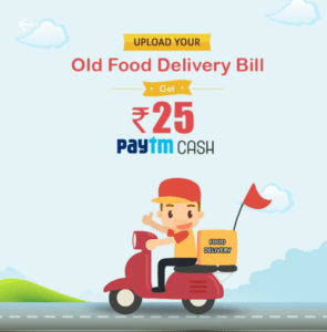 Crownit – Upload Food Delivery Bill And Get Rs. 25