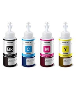 Epson Ink Bottles- Set of 4 at Rs.289 only