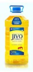 Jivo Canola Refined Edible Oil 5L (Pack of 1)