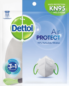 Purple - Buy Dettol KN95 Air Protect Mask at Rs. 192