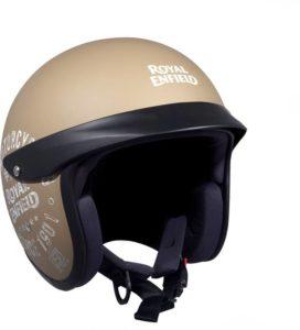 Royal Enfield Sun Peak Motorbike Helmet (Desert Storm)