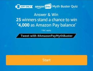 Amazon Myth Buster Quiz Answers