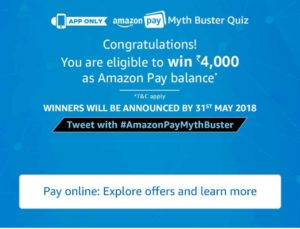 Answers Myth Buster Quiz