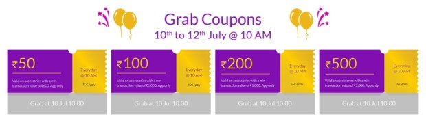 grab coupons