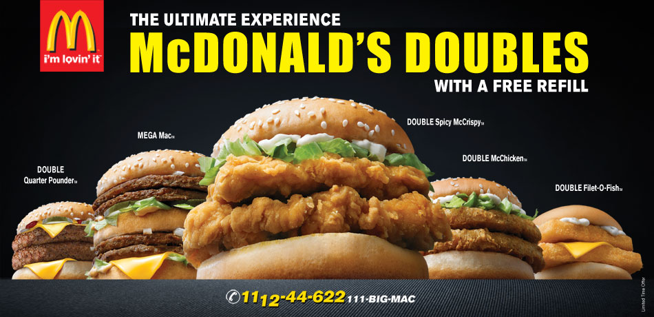 Deals in pakistan double filet o fish for Filet o fish deal
