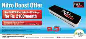 PTCL 3G EVO Nitro Boost Offer