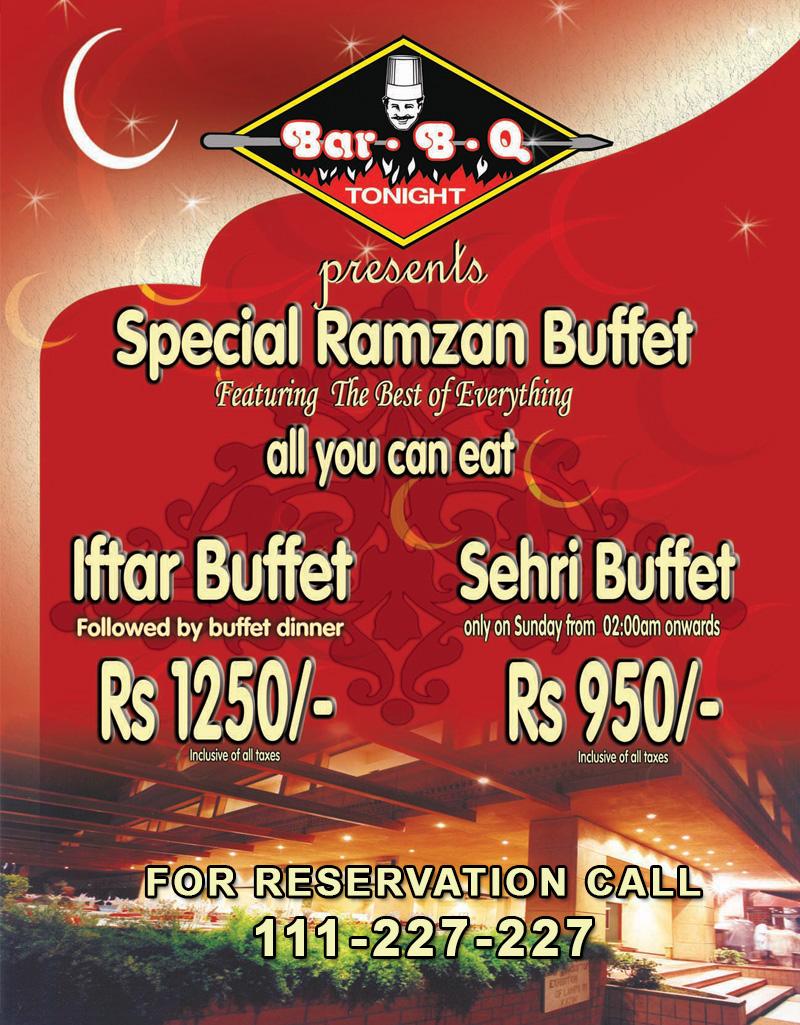 Karachi restaurants ramadan deals