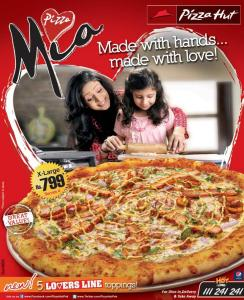 Pizza Hut Pakistan Pizza Mia Extra/X Large Deal 2013