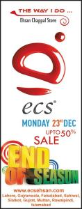 ECS Shoes Sale 2013 December Ehsan Chappal Store