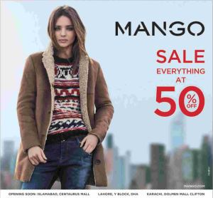 Mango Clothing Pakistan Sale December 2013