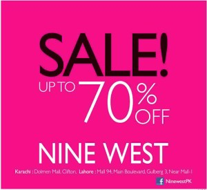 Nine West Pakistan Sale December 2013