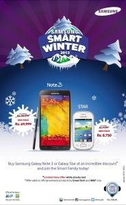 Samsung Winter Deal on Smart Phones 2013