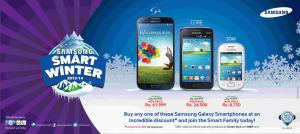 Samsung Smart Winter Offer 2014 Pakistan