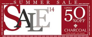 Charcoal Clothing Sale May 2014 Summer Collection