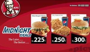 KFC Midnight Deals 2015