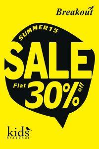 Breakout Summer Sale 2015