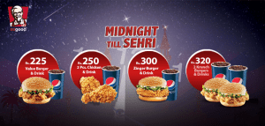KFC Midnight Ramadan Deals 2015