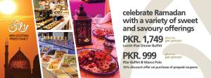 Pearl Continental Hotel Rawalpindi Iftar Buffet 2016 Dinner Rates & Deals