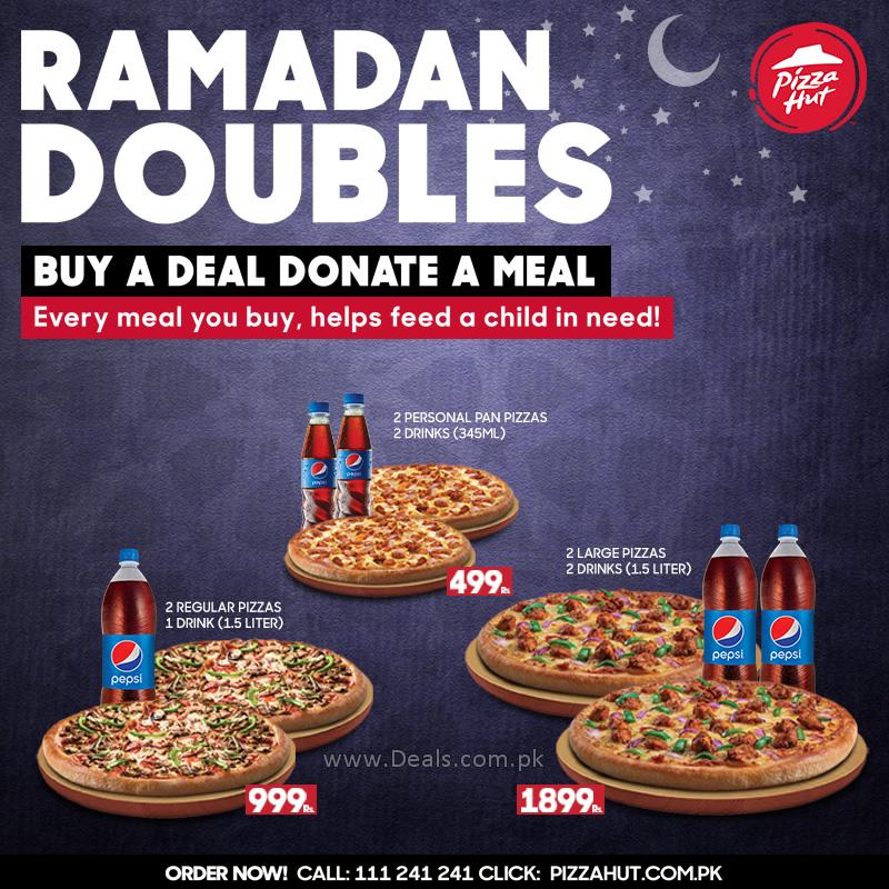 pizza hut pan pizza deals karachi