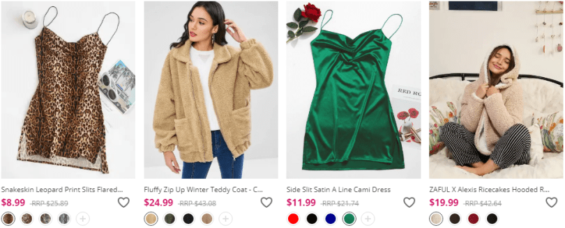 zaful women clothing sale