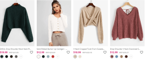 zaful women clothing