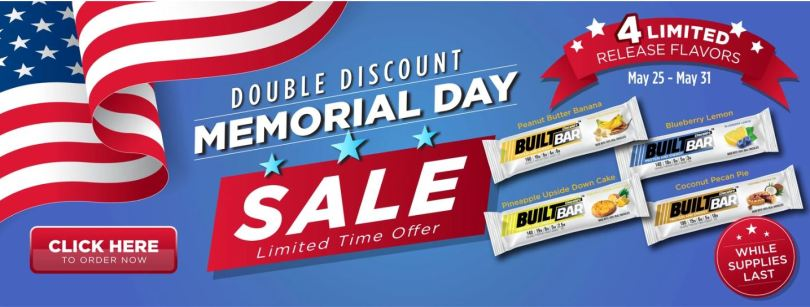builtbar memorial day sale