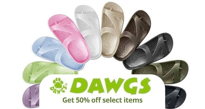 dawgs us 50% off