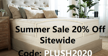 plushbeds summer sale