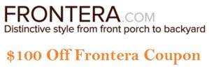 $100 frontera coupons