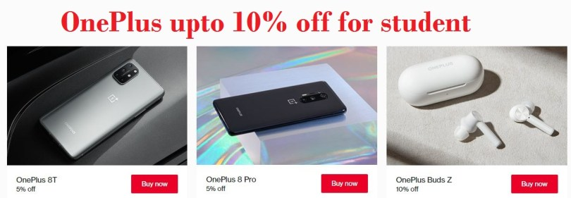 Student Discount at OnePlus.com