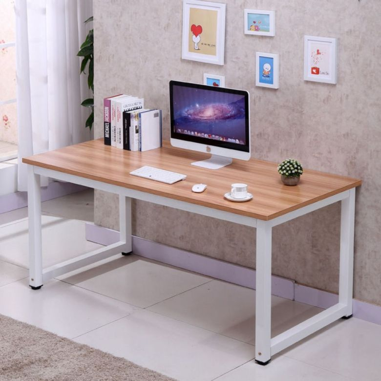 Zimtown Computer Desk PC Laptop Table Wooden Workstation Student Study Home Office Furni - Walmart.com