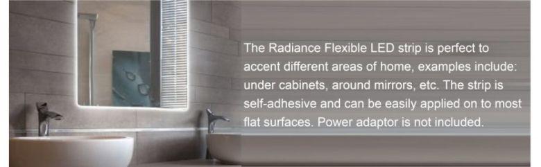 Amazon.com: Radiance Flexible Light Strip, 16 ft, Daylight White, Cuttable/Linkable: Home Improvement