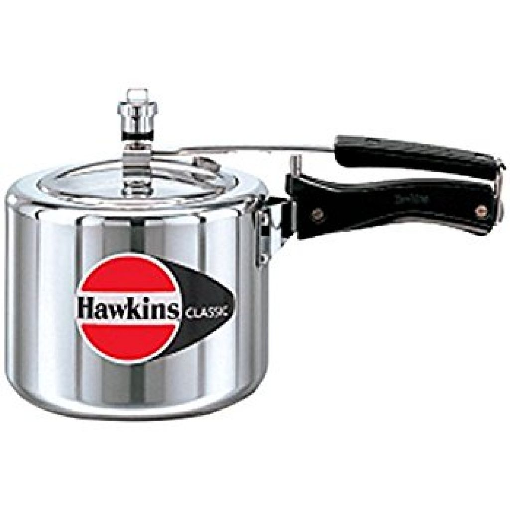 Amazon.com: HAWKIN Classic CL3T 3-Liter New Improved Aluminum Pressure Cooker, Small, Silver: Kitchen & Dining