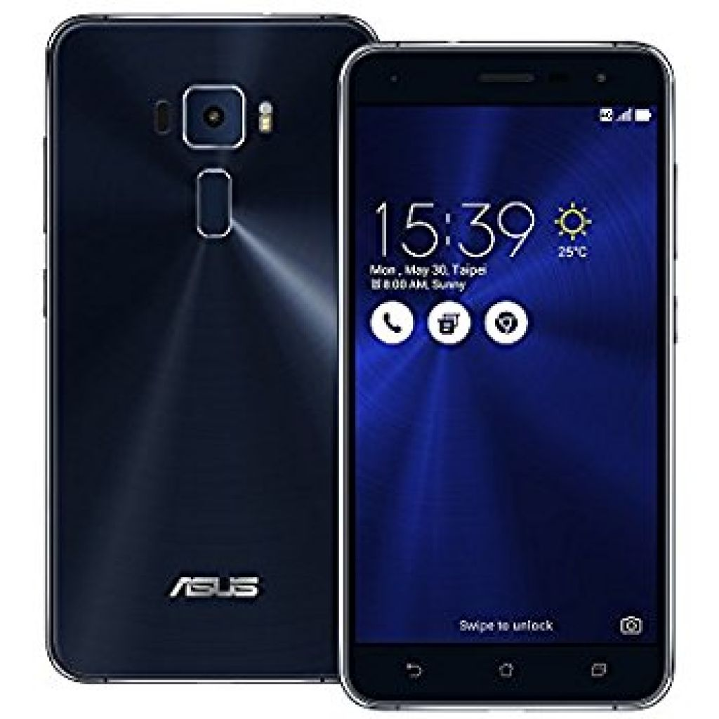 Amazon.com: Asus ZenFone 3 ZE520KL 32GB Sapphire Black, 5.2-inch, Dual Sim, 3GB Ram, Unlocked International Model: Cell Phones & Accessories